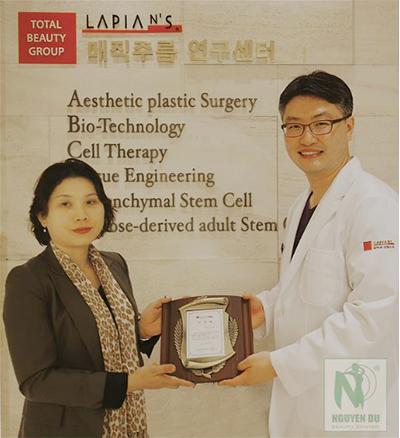 Viện thẩm mỹ Nguyễn Du được chuyển giao công nghệ làm đẹp từ tập đoàn thẩm mỹ Hàn Quốc Lapian